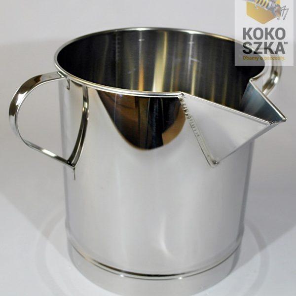 Pojemnik kwasoodporny na miód z lejkiem